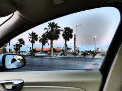 Vegas Car Window
