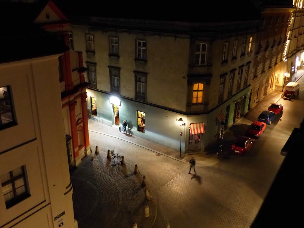 Krakow Night Scene