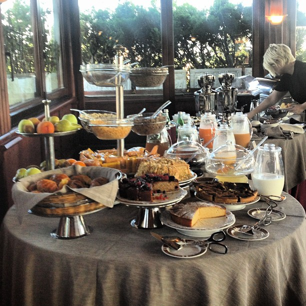 Typical Breakfast in Rome's Hotels