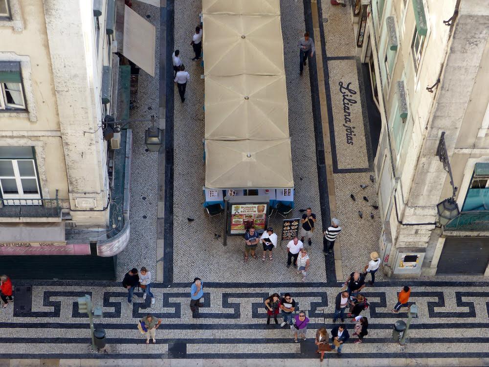 Lisbon Looking Down