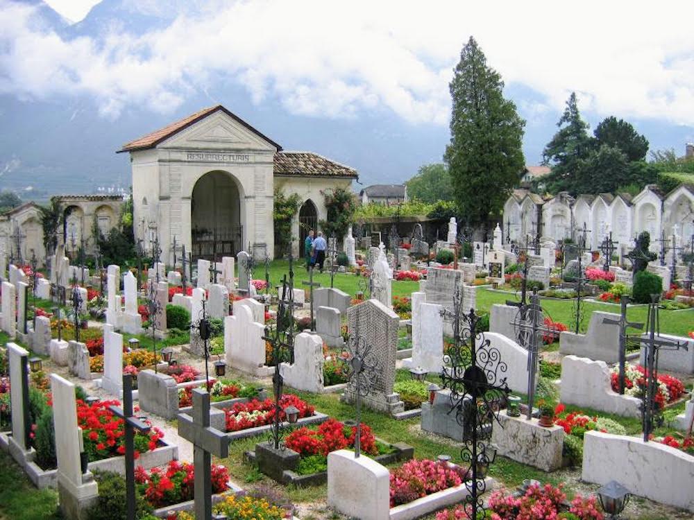 Graveyard in Italy