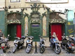 Lisbon motorbikes