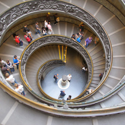 Spiral in Spain, Madrid