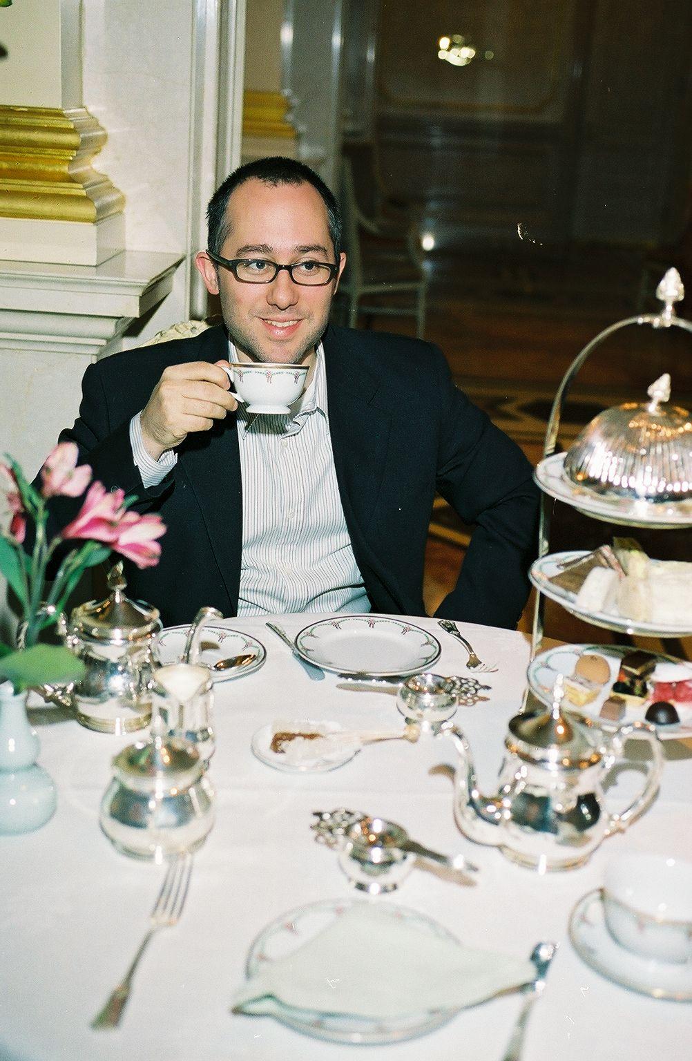 Having Tea at the St. Regis