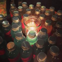 Booze-bottles