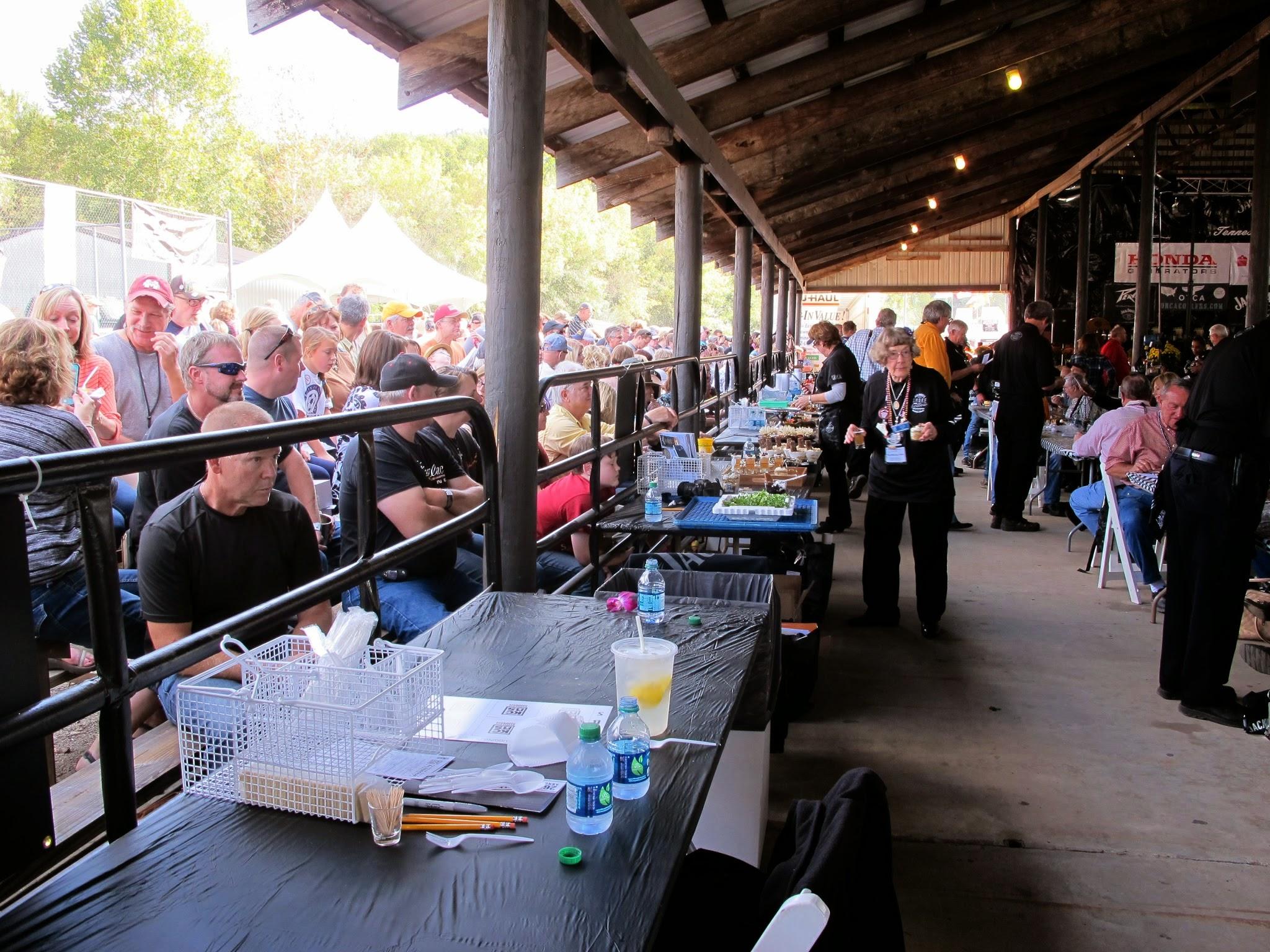 Crowds at Jack Daniel's BBQ Contest