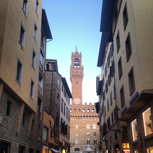 Cool Street in Florence