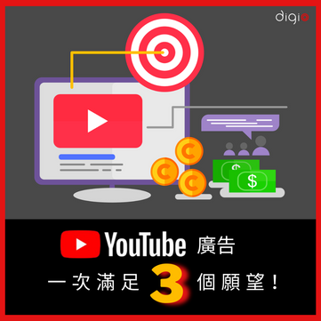 #YouTube 廣告   一次滿足 Marketers 三個願望