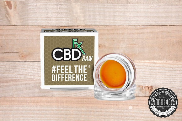 CBDfx | CBD Wax Dab 300mg | 1 Gram