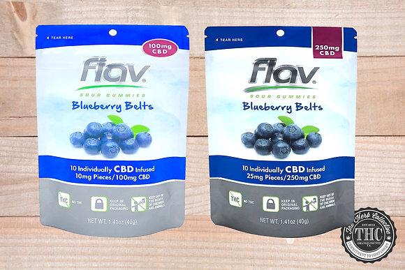 FLAV | CBD Blueberry Belts | 100mg - 250mg