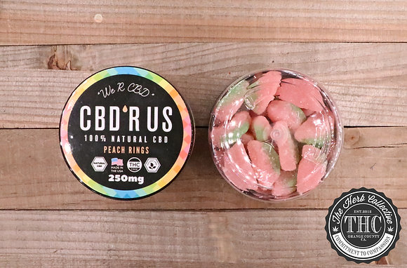 CBD R US | CBD Infused Watermelon Wedges 250mg