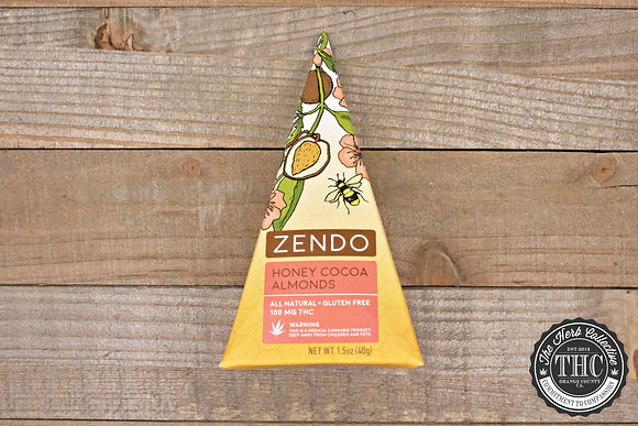 ZENDO | Honey Cocoa Almonds 100mg