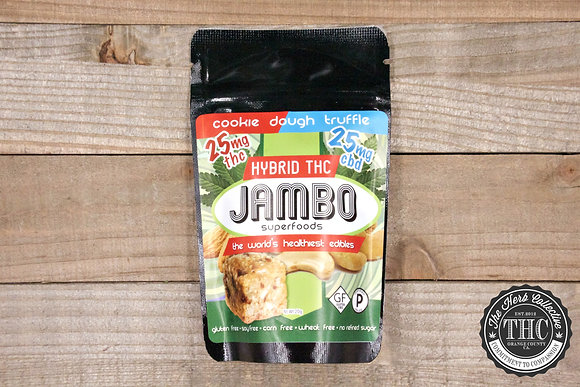 JAMBO SUPERFOODS | CBD:THC Cookie Truffle 50-150mg