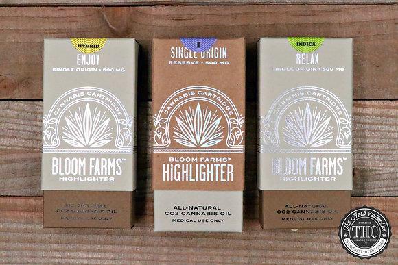 BLOOM FARMS | Single Origin Pure Vapor Cartridge | .5 Gram
