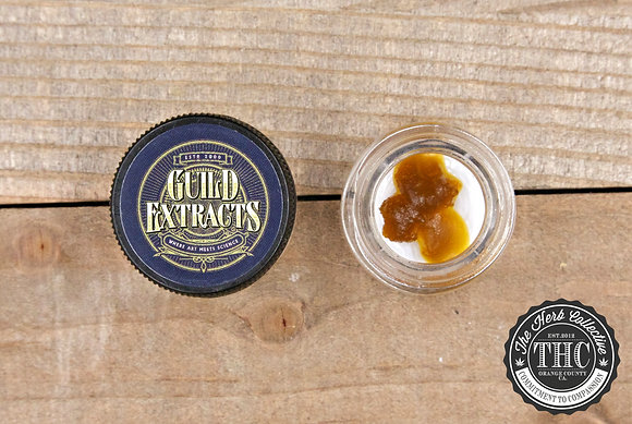 GUILD EXTRACTS | Sugar Resin Wax | .5 Gram