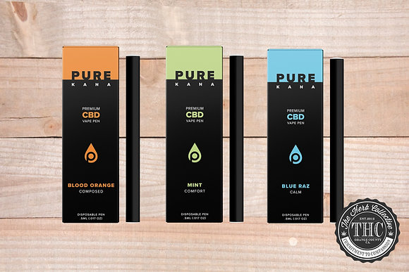 PUREKANA | CBD Disposable Vape Pen 230mg | .5 Gram