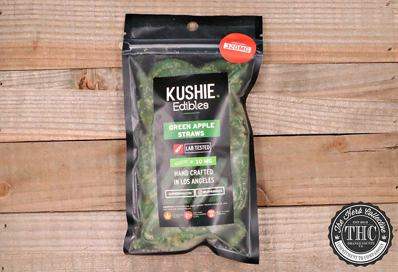 KUSHIE | Green Apple Straws 320mg