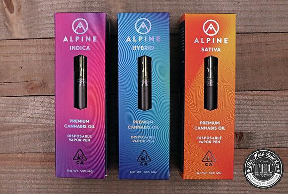 ALPINE | Live Resin Disposable Vapor Pen | .5 Gram