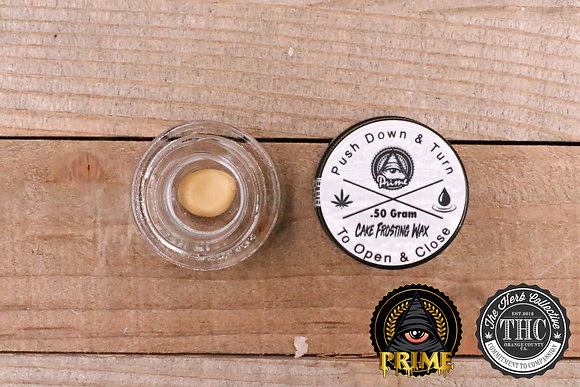 PRIME EXTRACTIONS | Live Resin Cake Frosting Wax | .5 Gram