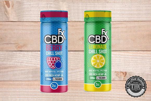 CBDfx | CBD Chill Shots 20mg