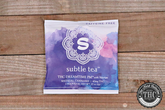 SUBTLE TEA | THC Dreamtime PM 40mg