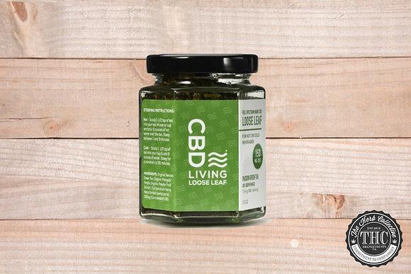 CBD LIVING | CBD Loose Leaf Passion Green Tea 150mg