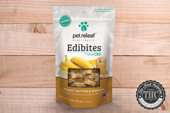PET RELEAF | CBD INFUSED EDIBITES PET TREATS 900MG - 1800MG
