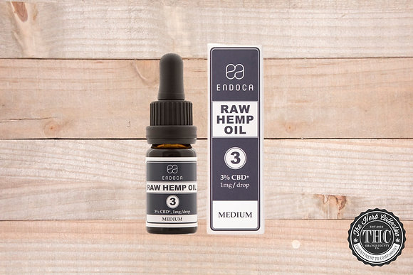 ENDOCA | CBD Raw Hemp Oil Drops 300mg