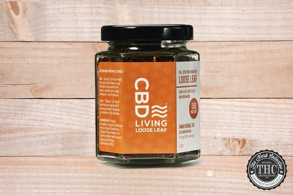 CBD LIVING | CBD Loose Leaf Mango Herbal Tea 150mg
