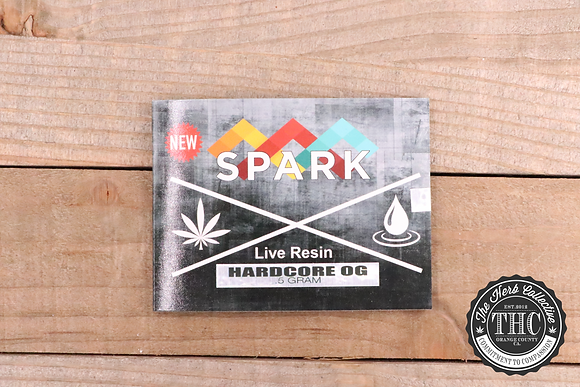 PRIME EXTRACTIONS | Spark Premium Cryo Live Resin Wax | .5 Gram