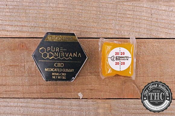 PURE NIRVANA | CBD Infused Gummies 80mg