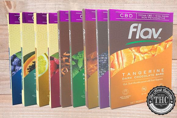 FLAV | CBD Chocolate Bar 100mg