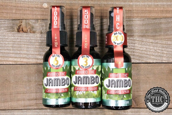 JAMBO SUPERFOODS | THC Potion 200-1000mg