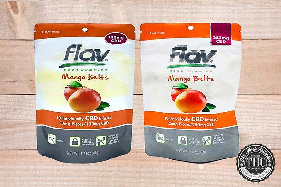 FLAV | CBD Mango Belts | 100mg - 250mg
