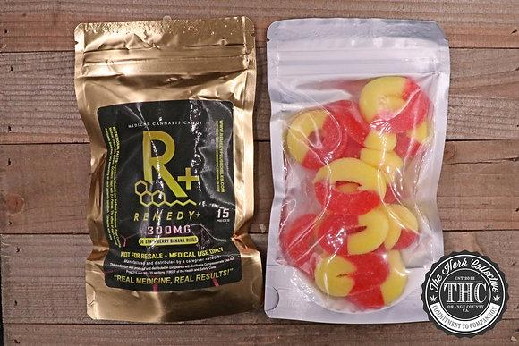 REMEDY+ | Strawberry Banana Rings 300mg