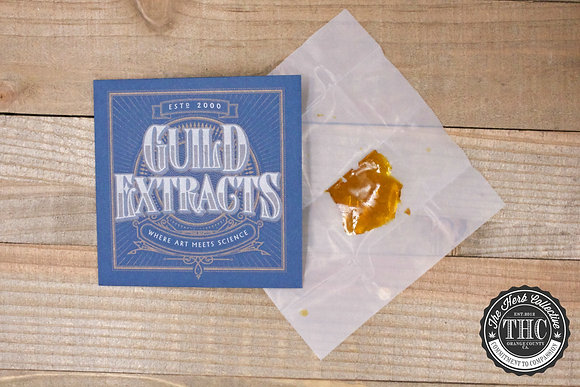 GUILD EXTRACTS | Shatter Wax | .5 Gram