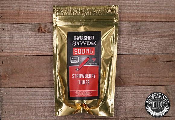 SMASHED | Strawberry Tubes 500mg