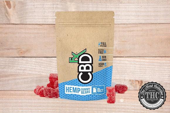 CBDfx | CBD Gummy Bears 40mg | 8ct Pouch
