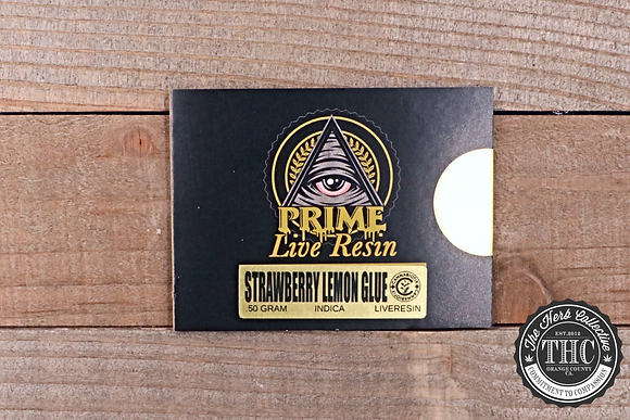 PRIME EXTRACTIONS | Live Resin Wax | .5 Gram
