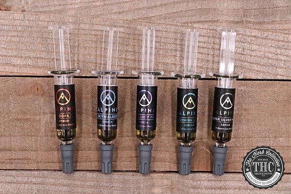 ALPINE | Live Resin Wax Syringe | 1 Gram