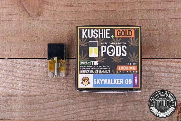 KUSHIE | Gold Vape Pods | 1 Gram