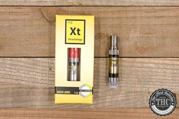 XTRACTOLOGY | Gold Label Oil Cartridge | .5 Gram