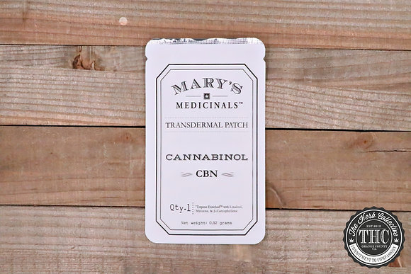 MARY'S MEDICINAL | CBN Transdermal Patches 10mg