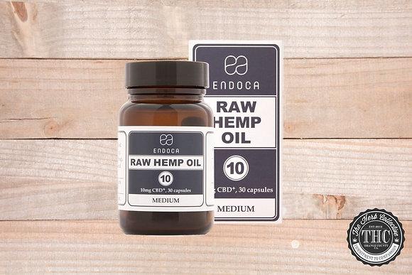 ENDOCA | CBD Raw Hemp Oil Capsules 300mg