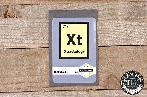 XTRACTOLOGY | Black Label Shatter Resin | .5 Gram