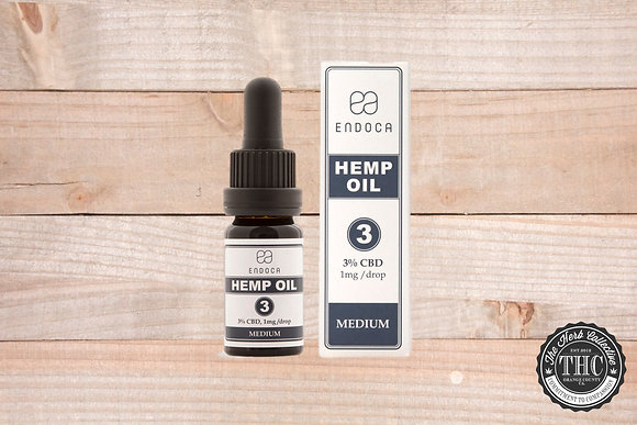 ENDOCA | CBD Hemp Oil Drops 300mg
