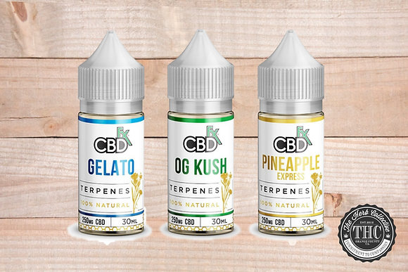 CBDfx | CBD Terpene Series Vape Oil | 250mg - 500mg