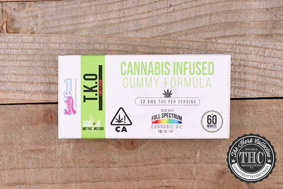 KUSHY PUNCH | T.K.O Cannabis Infused Gummies 200mg