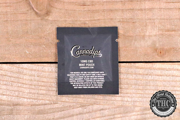 CANNADIPS | CBD Infused Pouch 10mg