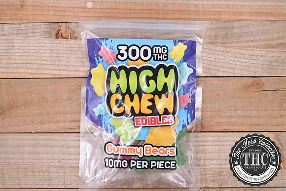 HIGH CHEW | Sour Gummy Bears 300mg